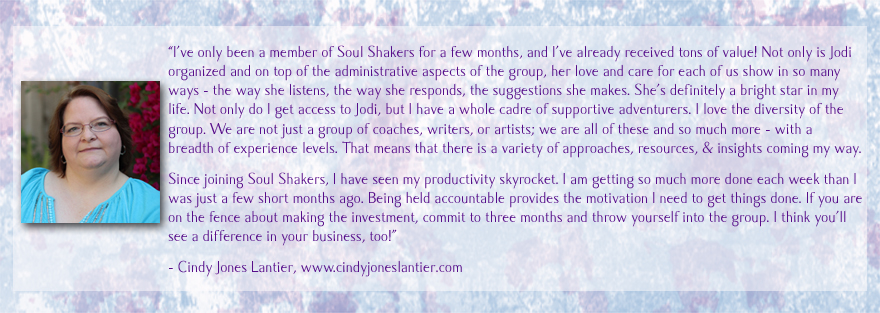 cindy soul shakers testimonial copy