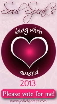 Blog with Heart Award
