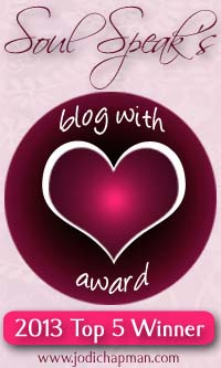blog award top 5 winner