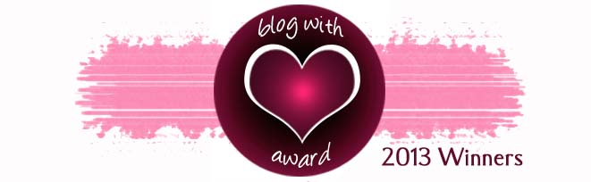 blog with heart winners banner
