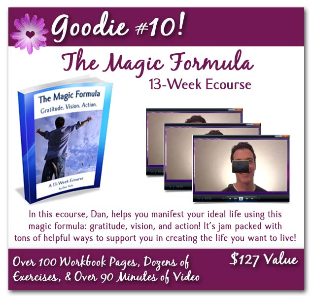 magic formula with background