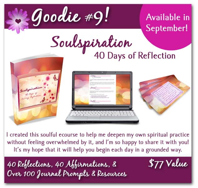 soulspiration poster with background