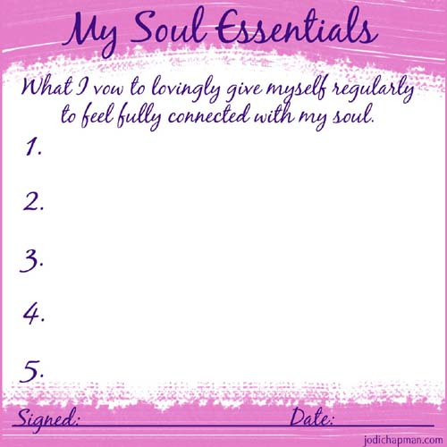 soul essentials copy small