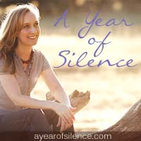 A Year of Silence